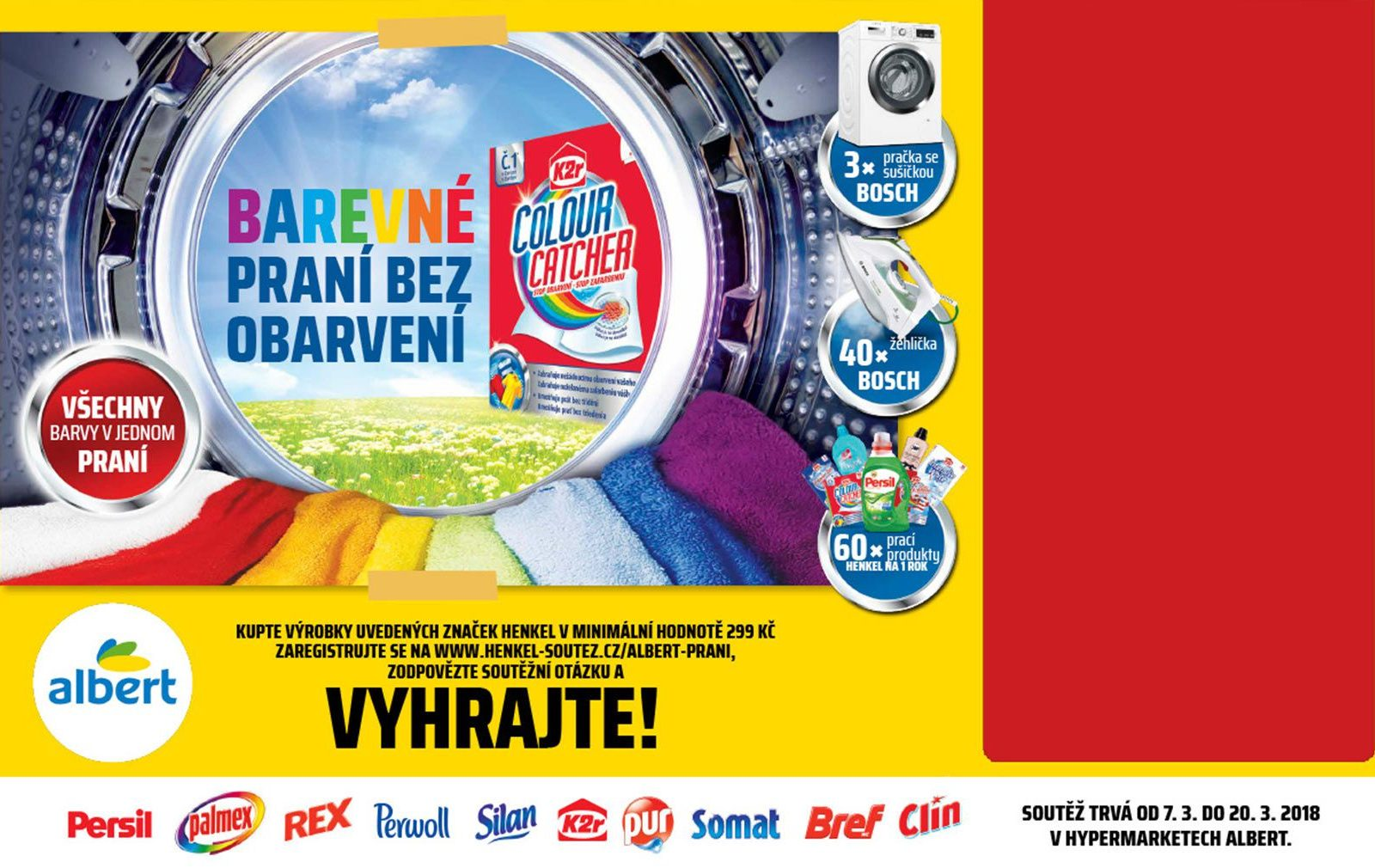 Soutez Albert Color Catcher 2018 banner
